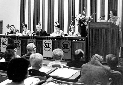 Sveriges Lärarförbunds kongress 1967.