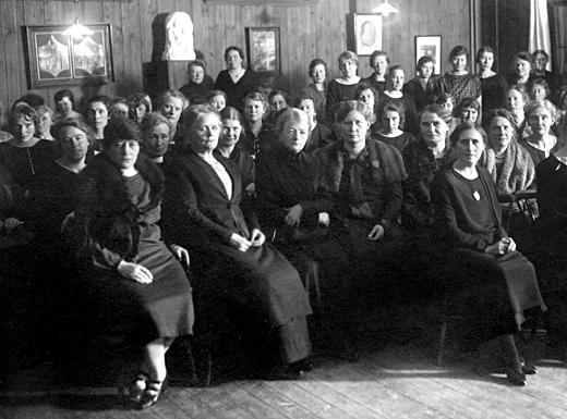 Sveriges Småskollärarinneförening, ombudsmöte i Nässjö, 1925.