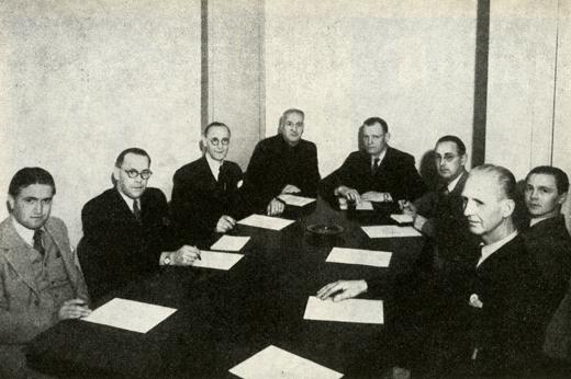 Slöjd- och Yrkeslärarnas Riksförbunds styrelse 1948